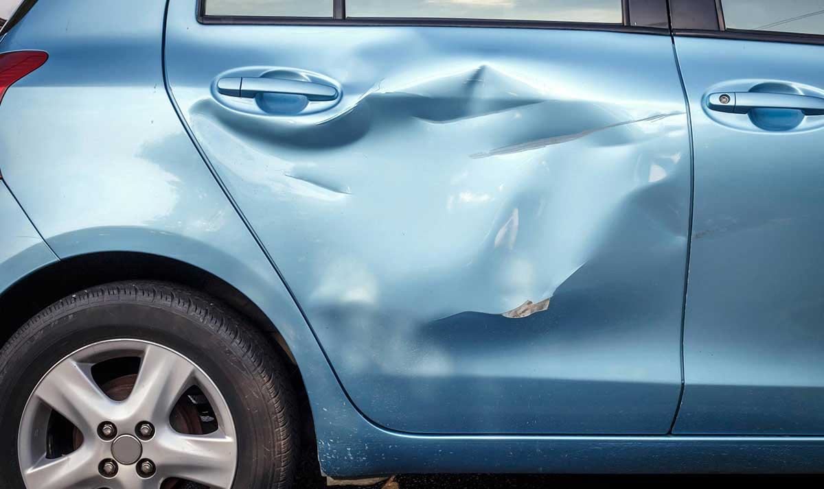 Suing for car damages