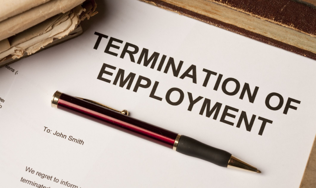 Termination by the employer